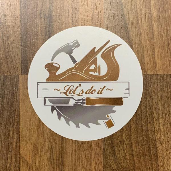 Sticker lets do it Daniel Kalb Falkensee